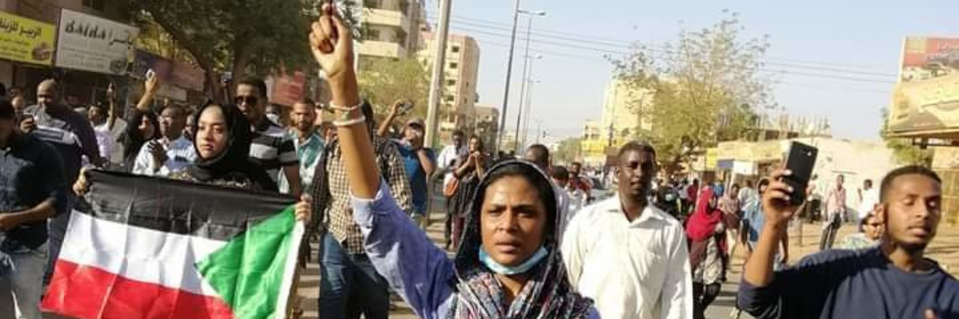 Testimony *A Sudanese Female Student protest Leader : The Security forces Unzipped their paints on street to intimidate us